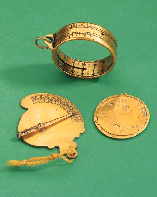 An early 18th-Century brass ri