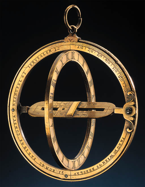 A late 18th-Century brass univ