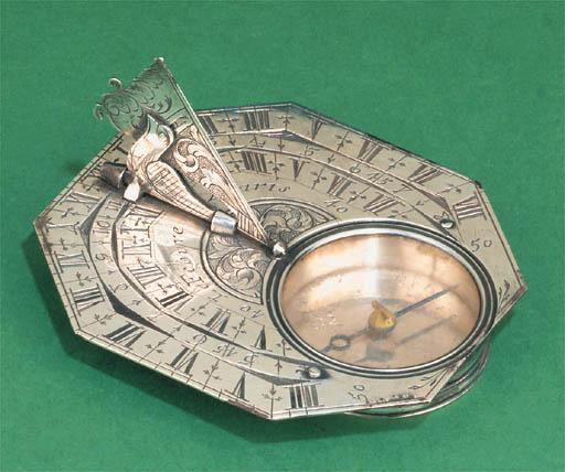 An 18th-Century silver octagon