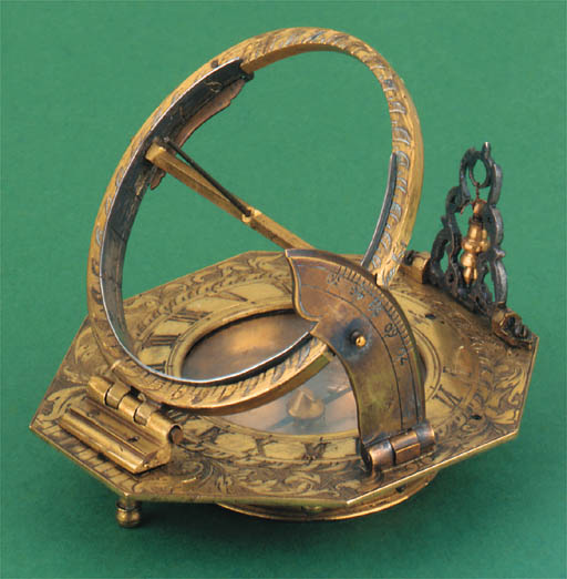 An 18th-Century gilt-brass Ger