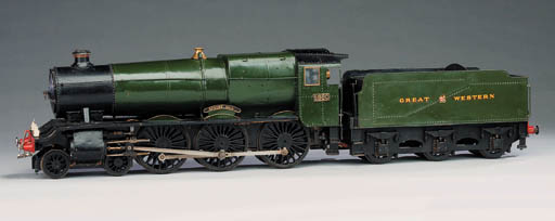 A 3½in. gauge model of the GWR