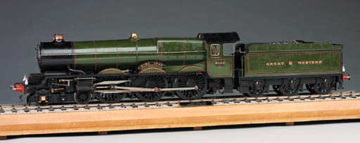 A finely engineered and well presented ¾in.:1ft scale 3½in. gauge model of the GWR King Class 4-6-0 locomotive and tender No.6026 King John