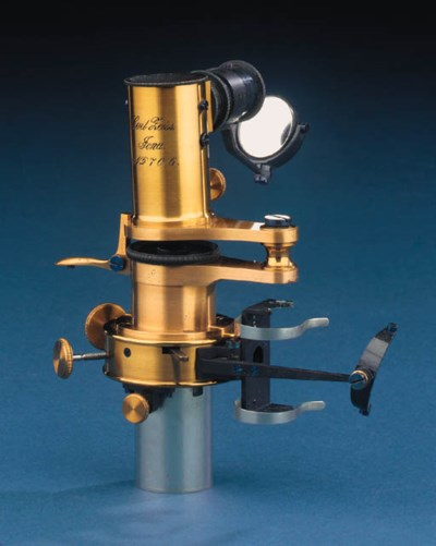 A lacquered-brass microscope s