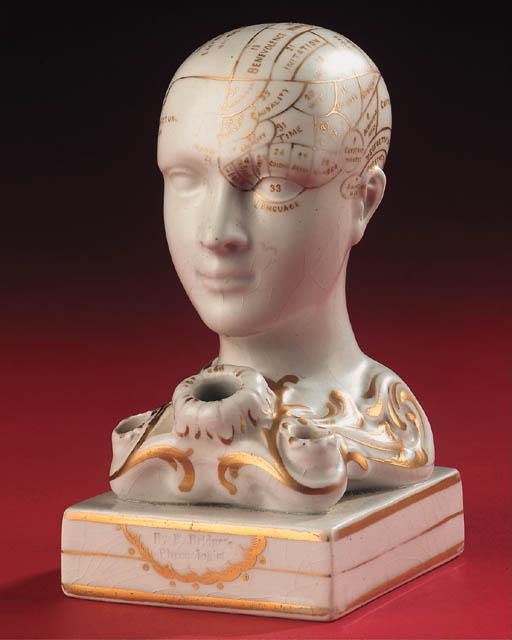 A late 19th-Century glazed por