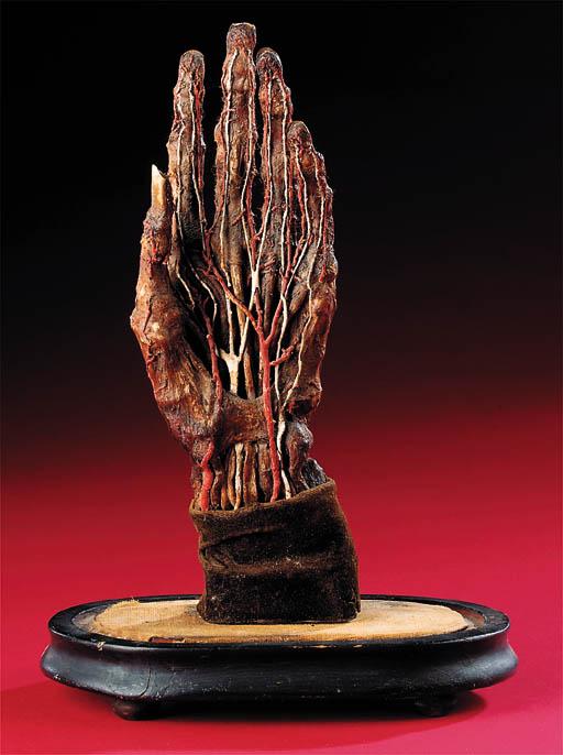 A rare 18th-Century wax model