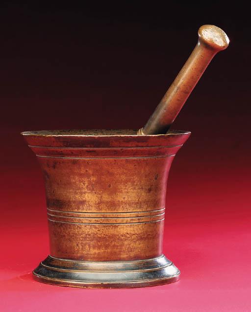 An 18th-Century bronze mortar