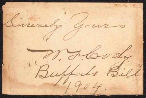 William F. Cody/Buffalo Bill