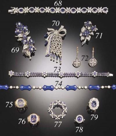 A DIAMOND, LAPIS LAZULI AND CU