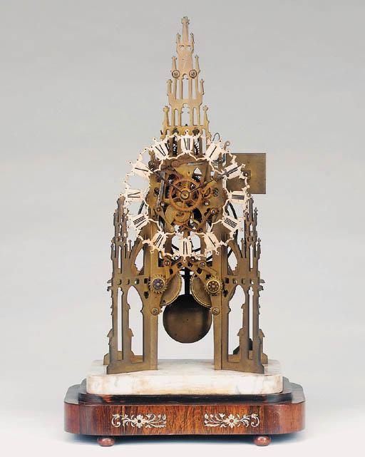 An early Victorian brass strik