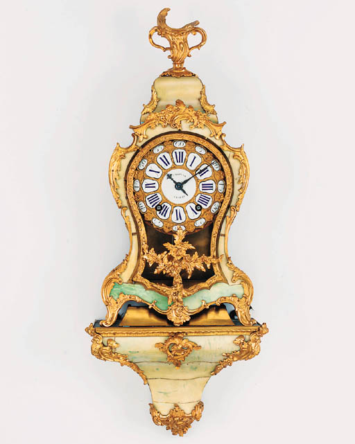 A Louis XV ormolu-mounted gree