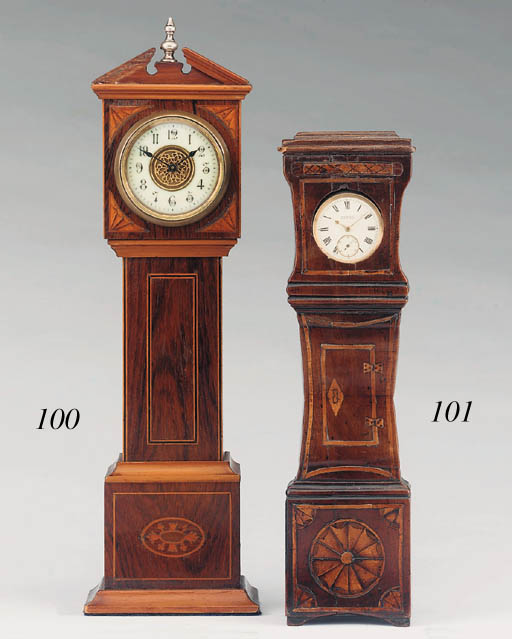 A French rosewood, satinwood a