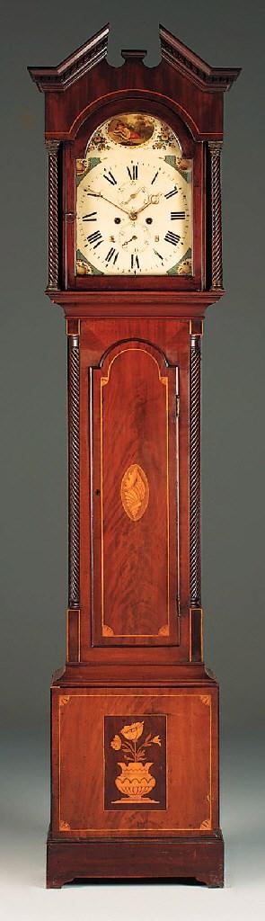A Victorian mahogany and inlai