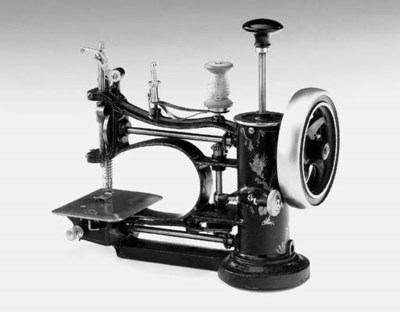An Avrial sewing machine,
