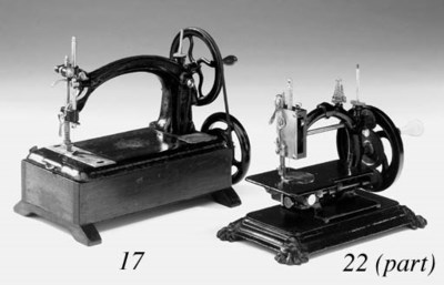 Two sewing machines and a need