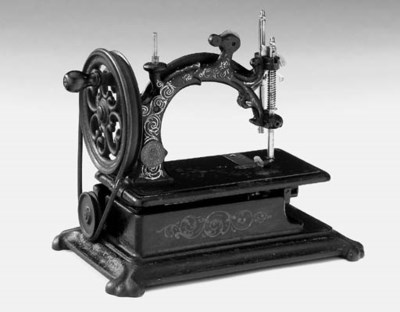 A Hurtu lockstitch sewing mach