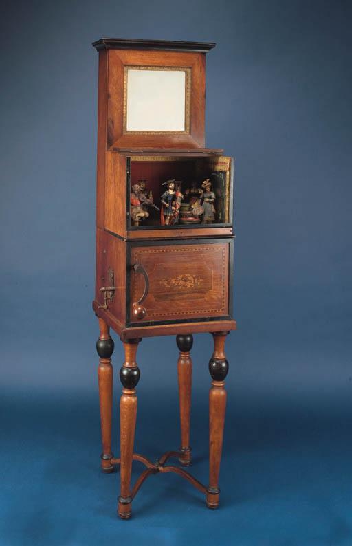 A rare barrel-piano automaton,