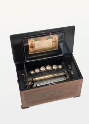 A Visible Bells musical box,
