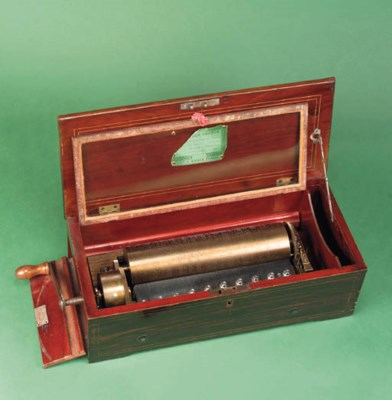 A fine overture musical box by