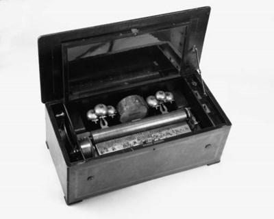 A ten-air musical box