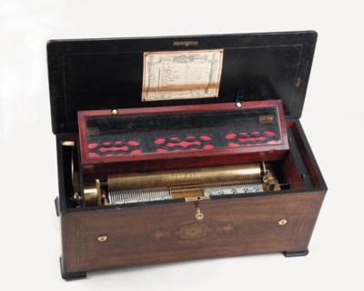 An organ musical box by Bremon