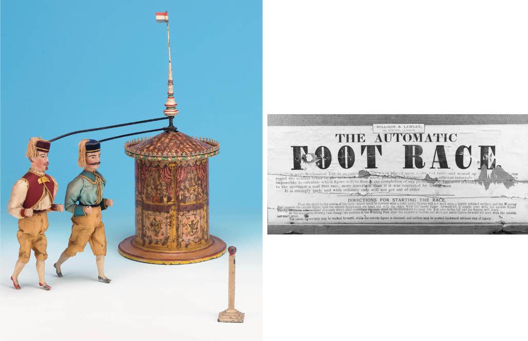 The Mechanical Foot Race