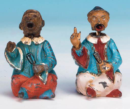 Nodding Head Mandarin and Monk