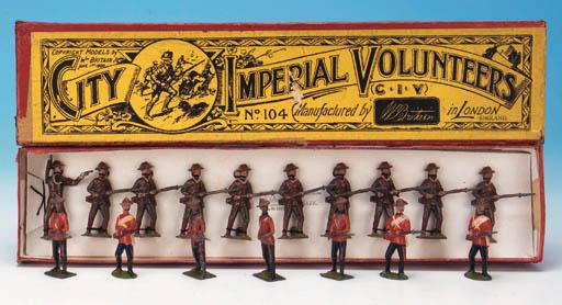 City Imperial Volunteers on gu
