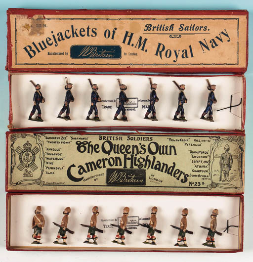 Set 22B Bluejackets of H.M. Ro