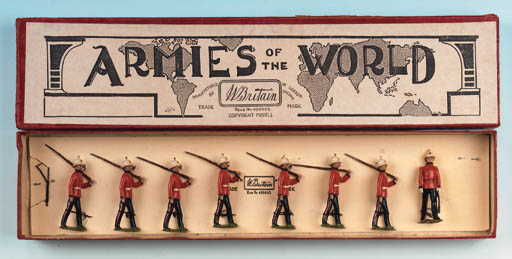 Rare Set 1620 Royal Marine Lig