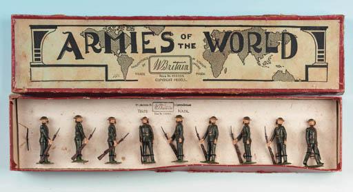 Extremely rare Set 1828 Britis