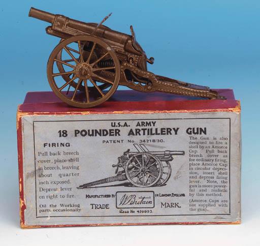 Set 1374 USA Army 18 Pounder G