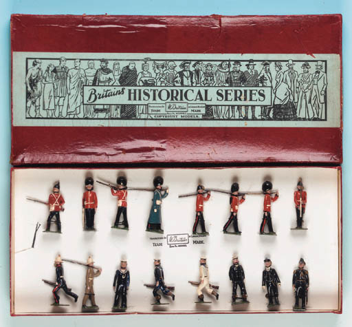 Set 1871 Historical Collector'