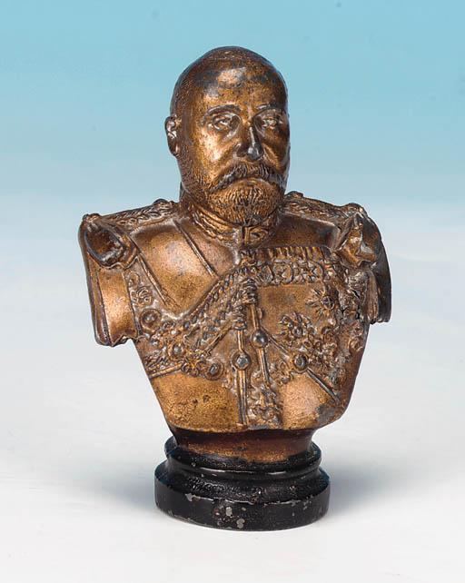 Rare large Edward VII bust