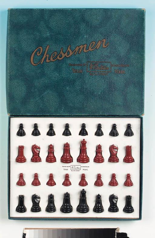 Set 1920 Chessmen