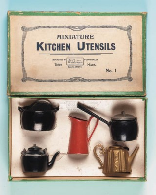 Rare Set No.1 Miniature Kitche