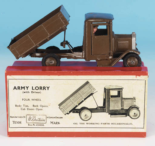 Set 1334 Army Lorry