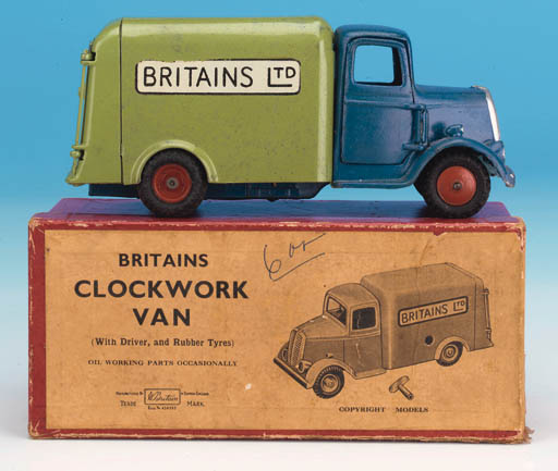 Rare Set 2045 Clockwork Van 'B