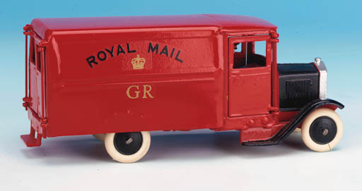 A reproduction Royal Mail Van