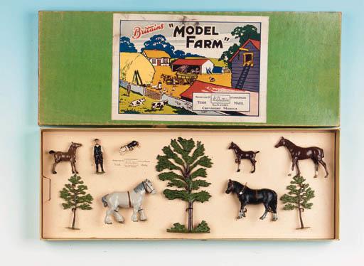 Set 55F Model Farm Set