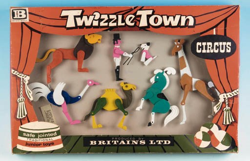 Set 8001 Twizzletown Circus