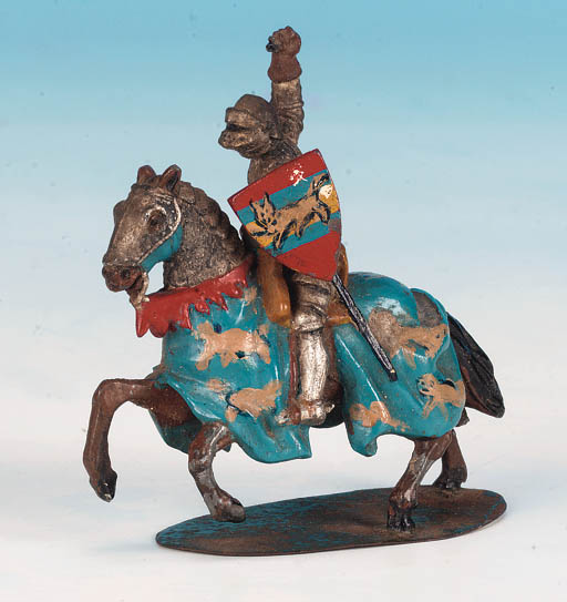 Un-named Knight, mounted