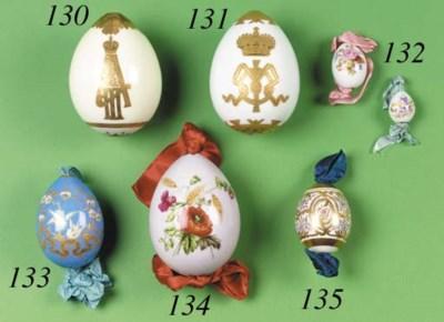 A large Porcelain Easter Egg