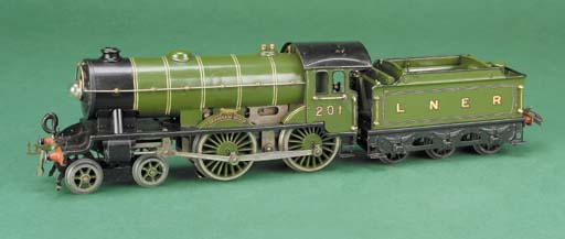 A  Hornby Series electric LNER