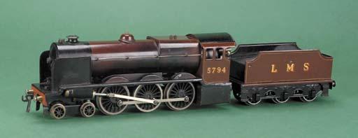 A  Bassett-Lowke steam LMS 4-6