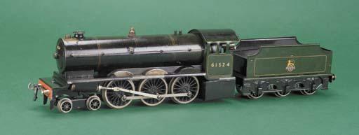 A  Bassett-Lowke steam BR Supe