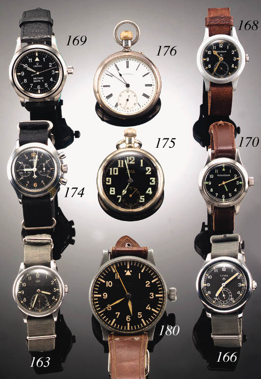 ROLEX, A NICKEL CASED MILITARY