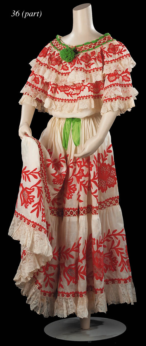 Panamanian National Costume
