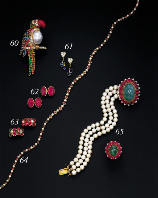 A SUITE OF CULTURED PEARL, EME