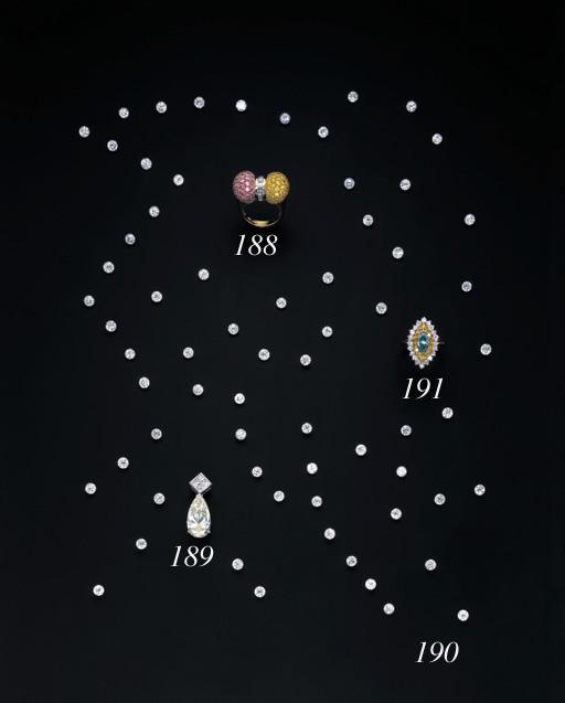 A GROUP OF SIXTY-SIX UNMOUNTED CIRCULAR-CUT DIAMONDS