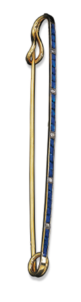 A SYNTHETIC SAPPHIRE AND DIAMO